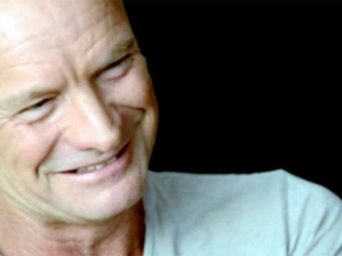 Sting explains to a different interviewer the songwriting process