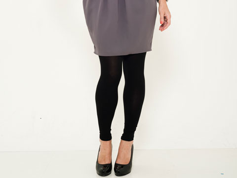 leggings with dresses - photo #8