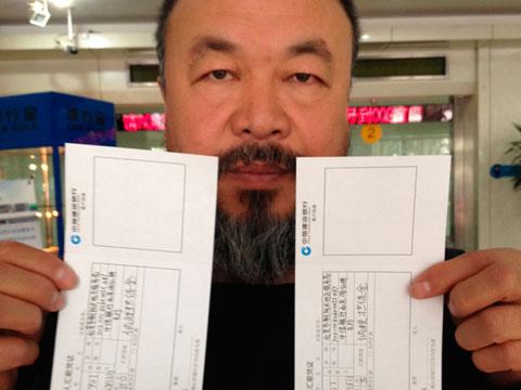 Chinese dissident artist Ai WeiWei