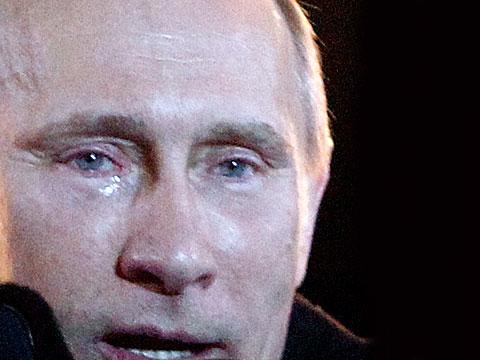 Putin's tears: Why so sad, Vlad? | World news | The Guardian