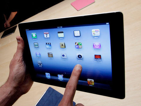 Take A Look At The New iPad