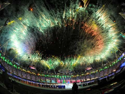 London Olympics 2012: closing ceremony highlights - video