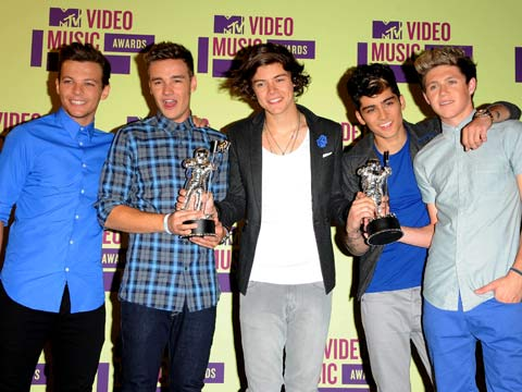 MTV video music awards 2012: One Direction big winners of the night