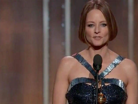 Jodie Foster 'comes out' in opaque Golden Globes speech | Film